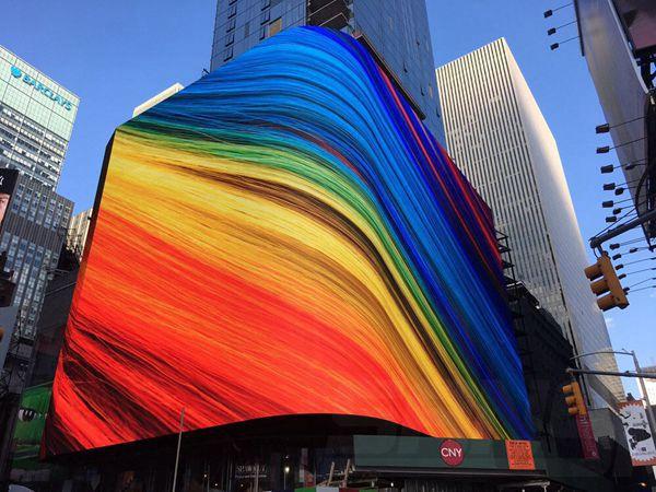 纽约时代广场全彩LED显示屏