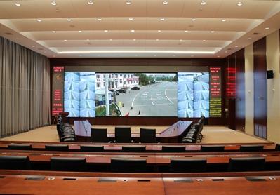 内蒙古公安厅交警总队指挥调度中心
